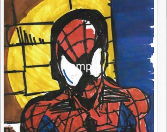 "Spotlight on Spidey 11""×17""quality prints"