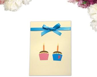 Mini Cupcakes Birthday Card
