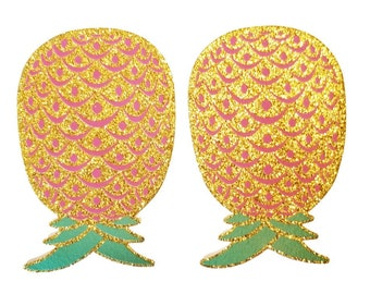 Sparkly Pineapple Pasties Lifestyle Upside Down, Swinger Party Pasties