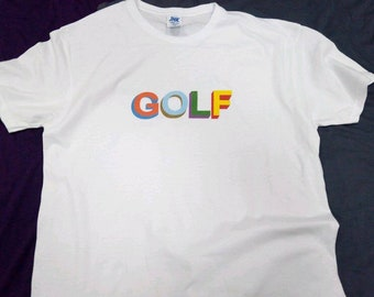 cc0ac4041cfe Golf Tyler The Creator white shirt