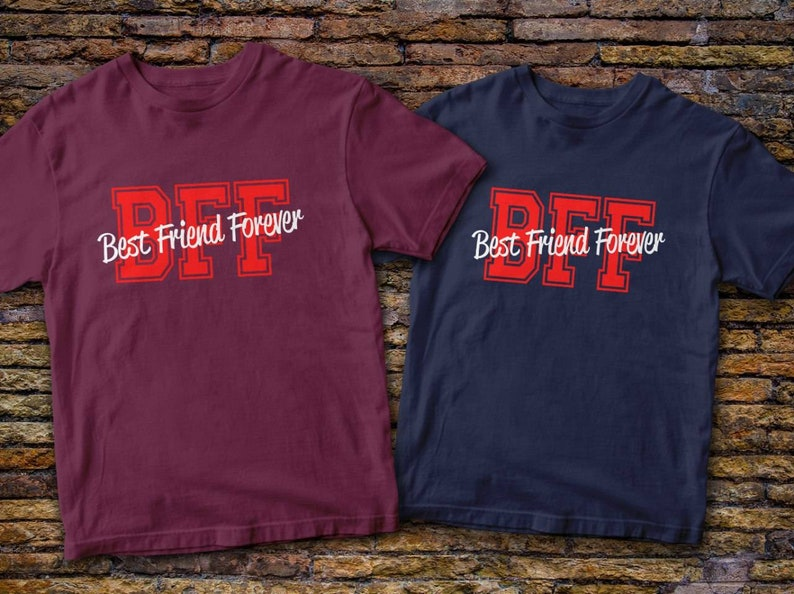 Best Friends Forever Tshirts  Best Friend T-Shirts BFF T-shirts Best Friend Gifts Friends Shirt Price for 1 t-shirt!