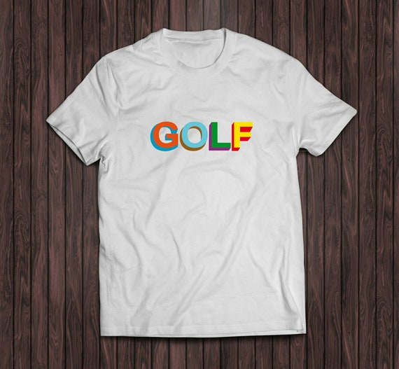 996cc20b707e Golf Tyler The Creator white shirt golf wang white hip hope