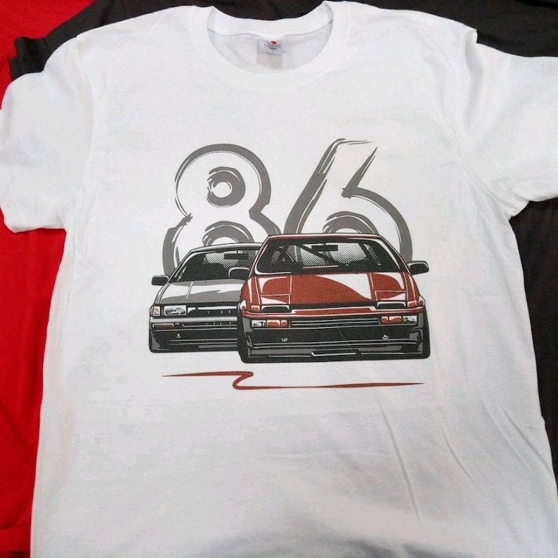 2ea1e3e523 Toyota AE 86 Japan Jdm shirt old Japan car classic old | Etsy