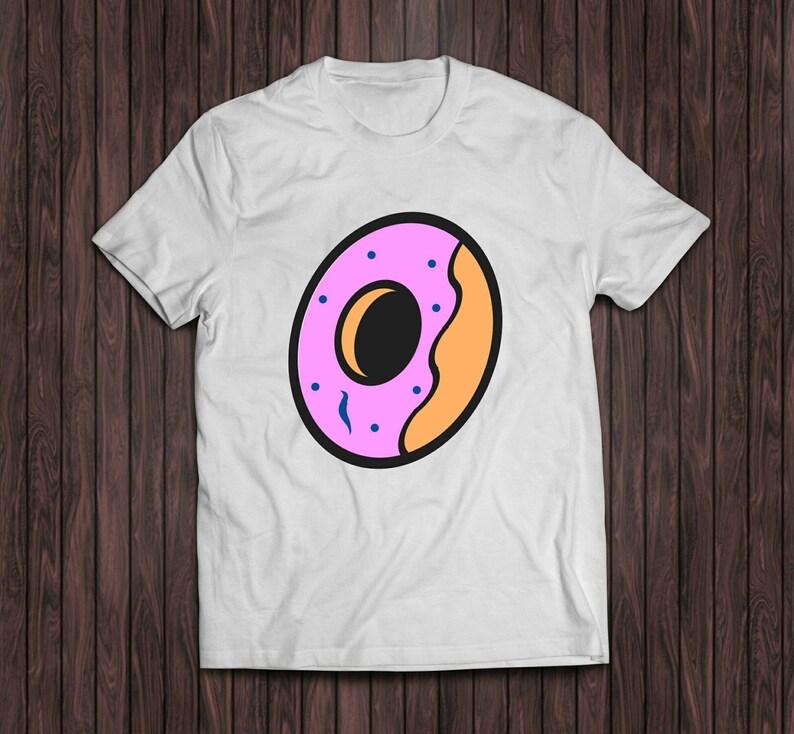 09b527582d188c Tyler The Creator white Donut Shirt Cherry Bomb Shirt golf
