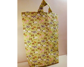 Handmade Toy Storage Bag