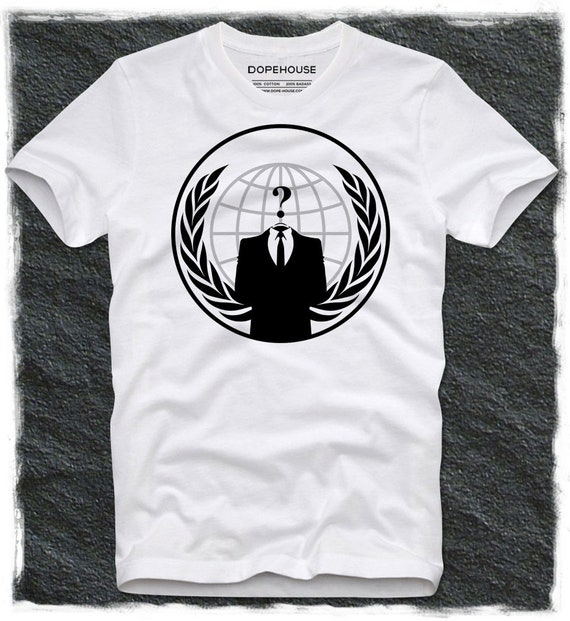 T-shirt annonymous Hope Disobey Guy Fawkes blockupy Occupy Wall Anonymus