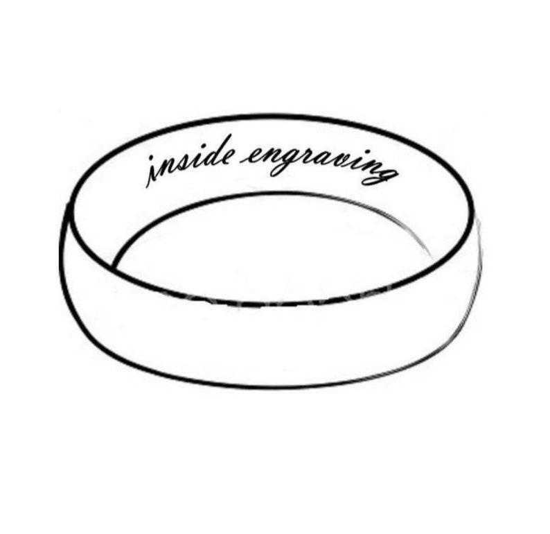 Padauk Wood Inlay and Stainless Steel Ring