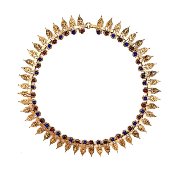 Victorian Egyptian Revival Collar - image 3