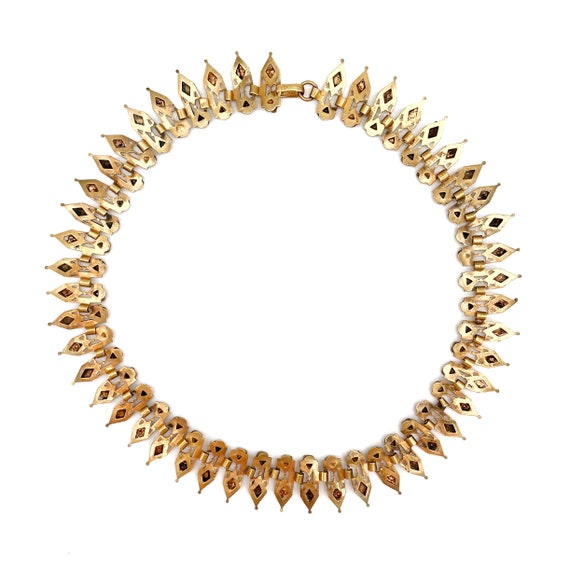 Victorian Egyptian Revival Collar - image 4