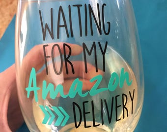 Waiting for my Amazon Delivery // Wine Lover // Gift