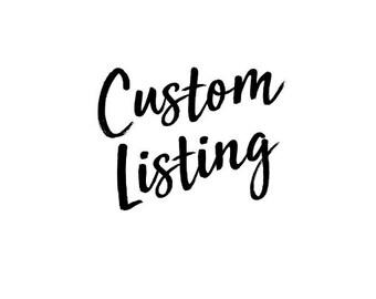 Custom Listing - Tumblers