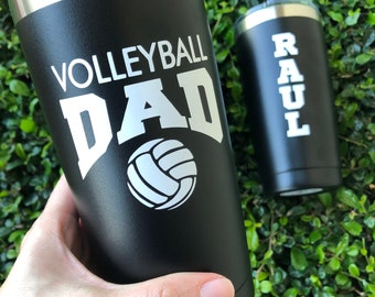 Personalized Volleyball Dad | Drink Tumbler | Gift | Water Bottle
