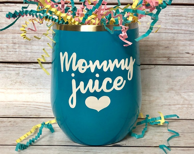 Featured listing image: Mommy Juice | Wine Tumbler | Mom Life | Gift | Wine Lover