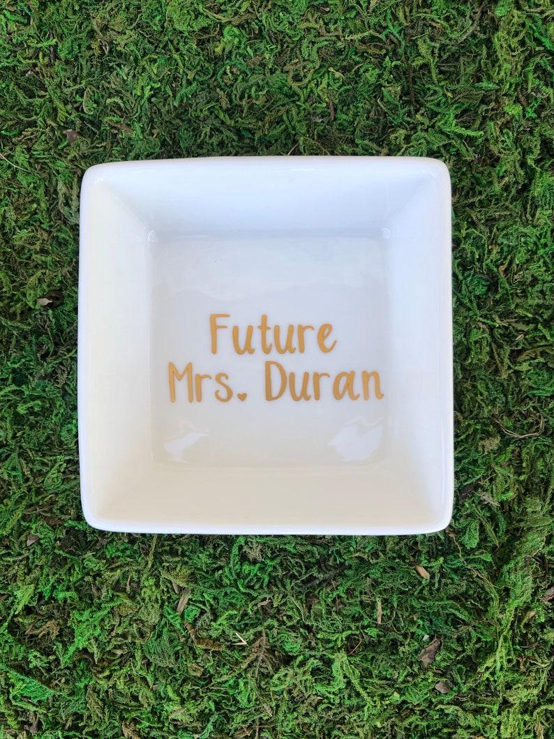 Bride Dish Future Mrs Ring Dish Ring Dish for bride