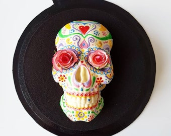 Day of dead skull Silicone mold