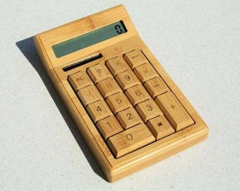 Wooden Calculator