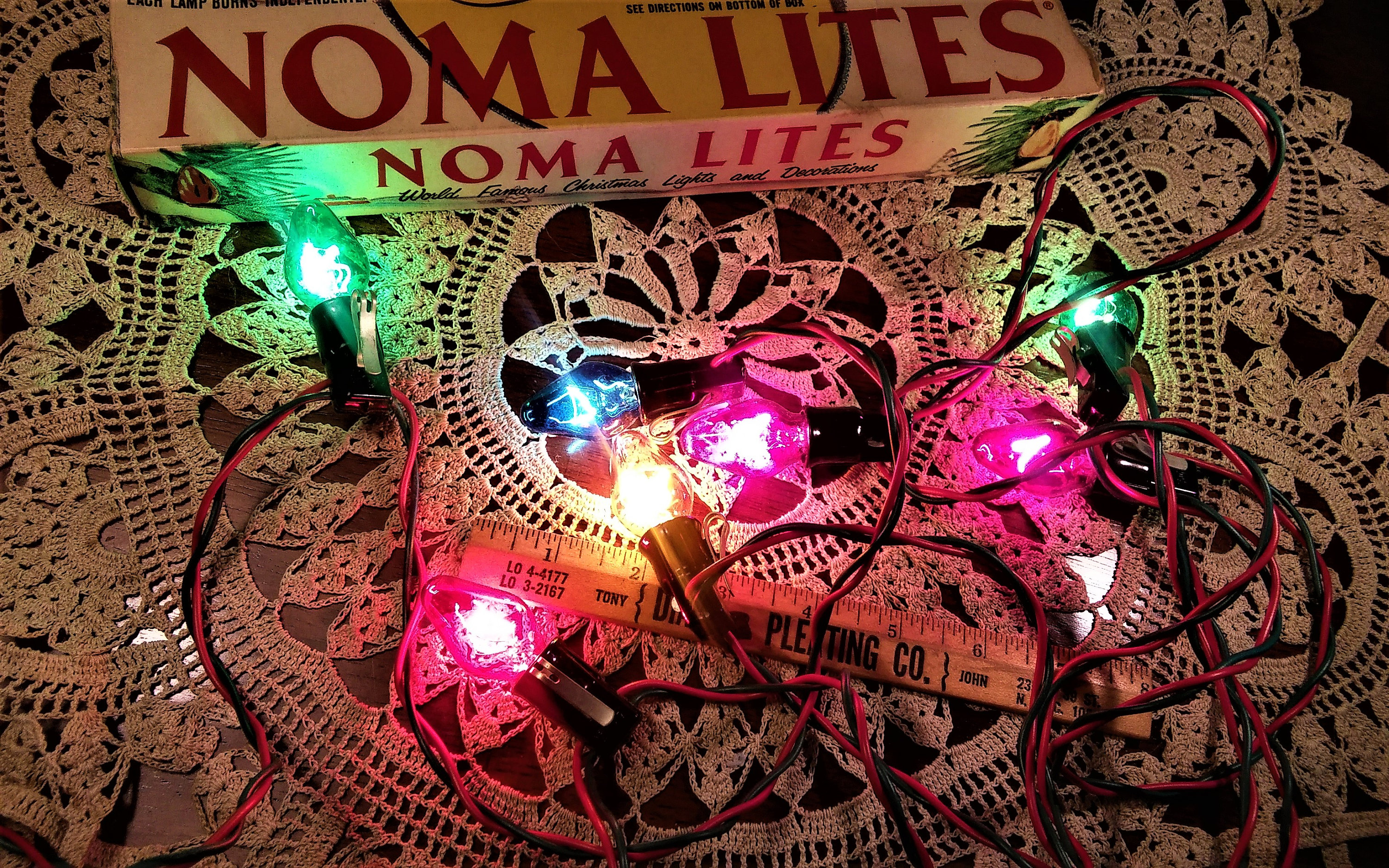 Vintage Noma Christmas Lights - Set of 3 Boxes