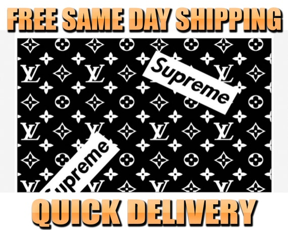 1a666b12303aa 4 Supreme x Louis Vuitton Vinyl Painting Stencil High
