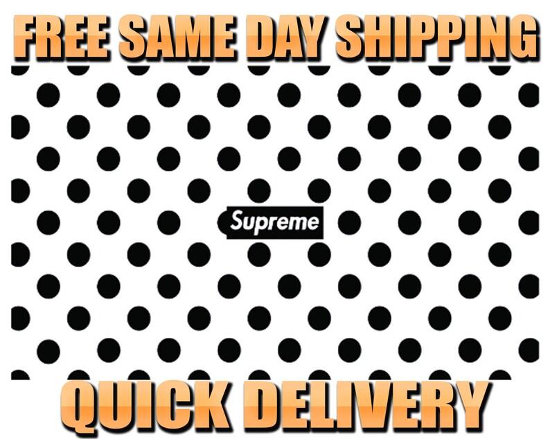 e5f266c336a3f 4 Supreme Polka Dot Pattern Vinyl Painting Stencil HIGH