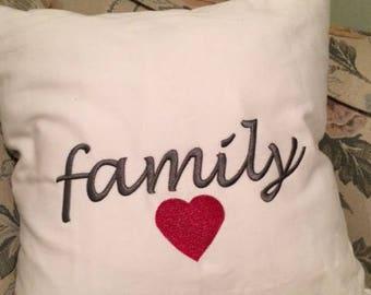 Family Love pillow