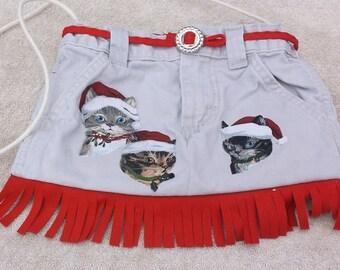 Santa Cats Purse/Tote