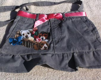 Purse/tote with puppies