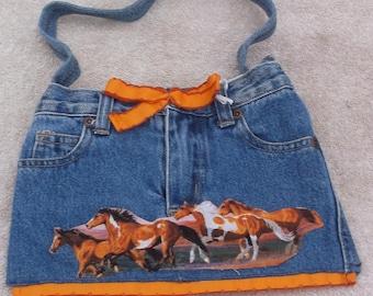 Wild Horses purse/tote