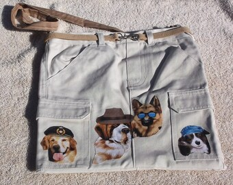 Working dogs purse/tote