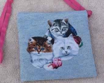 Cute kittens purse/tote