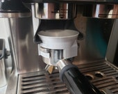 The original fits a Breville Barista Express, Pro, and Touch Dosing Funnel With Grinder Trigger 3D Printed