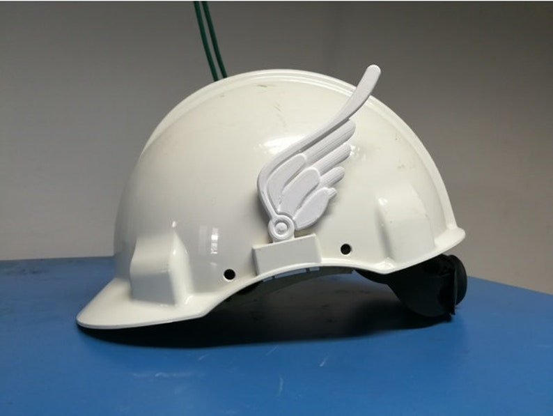 Wings for a hard hat / hard hat accessories / gift for construction worker  / gift for dad / gift for mom / gift for coworker / 3D Printed