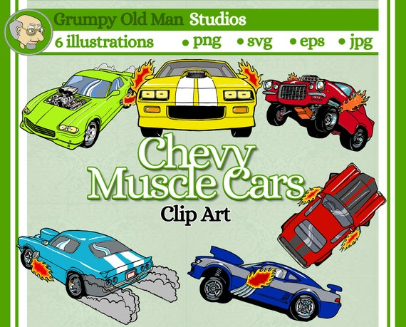 Free Yellow Muscle Car Png - Classic Car Clipart Png, Transparent Png - vhv