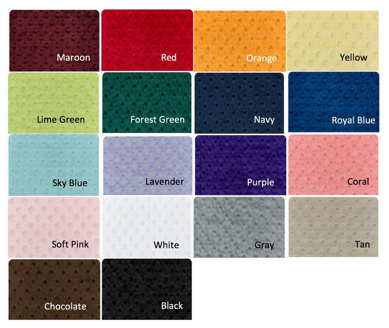 Weighted Blanket, Calming Blanket, Minky Blanket, Adult Weighted Blanket,  Anxiety Blanket, ADHD Blanket, Therapy Blanket