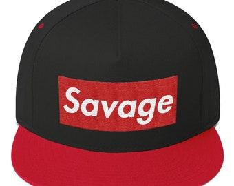 16b929d32d1 Savage Hat (Box Logo Style)