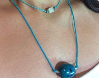 Turquoise Tagua