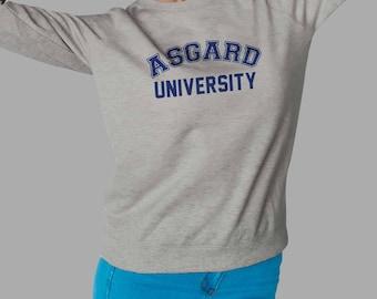 Asgard University Sweatshirt - THOR Sweater #J