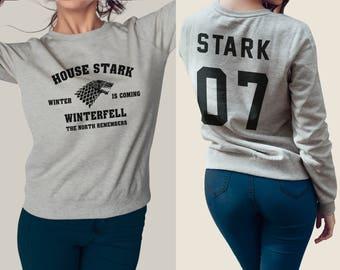 Stark 07 game of thrones Sweatshirt #J
