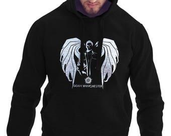 Supernatural Hoodie - Dean Winchester Demon Wing Hoodie #R