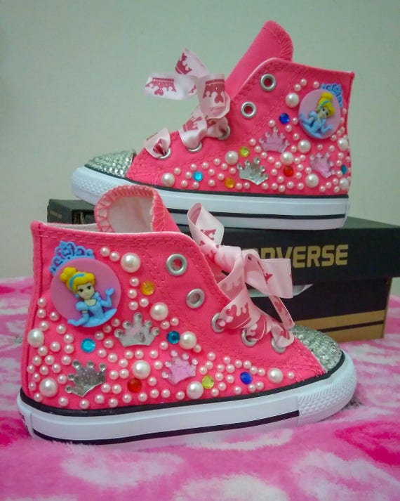 Princess converse,princess shoes,all star converse,bling converse,fairy tail shoes