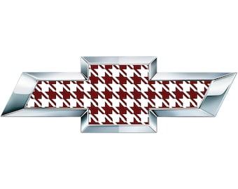2 fogli di vinile bandiera Italia per emblema di Chevy Bowtie Silverado Tahoe Overlay decalcomania