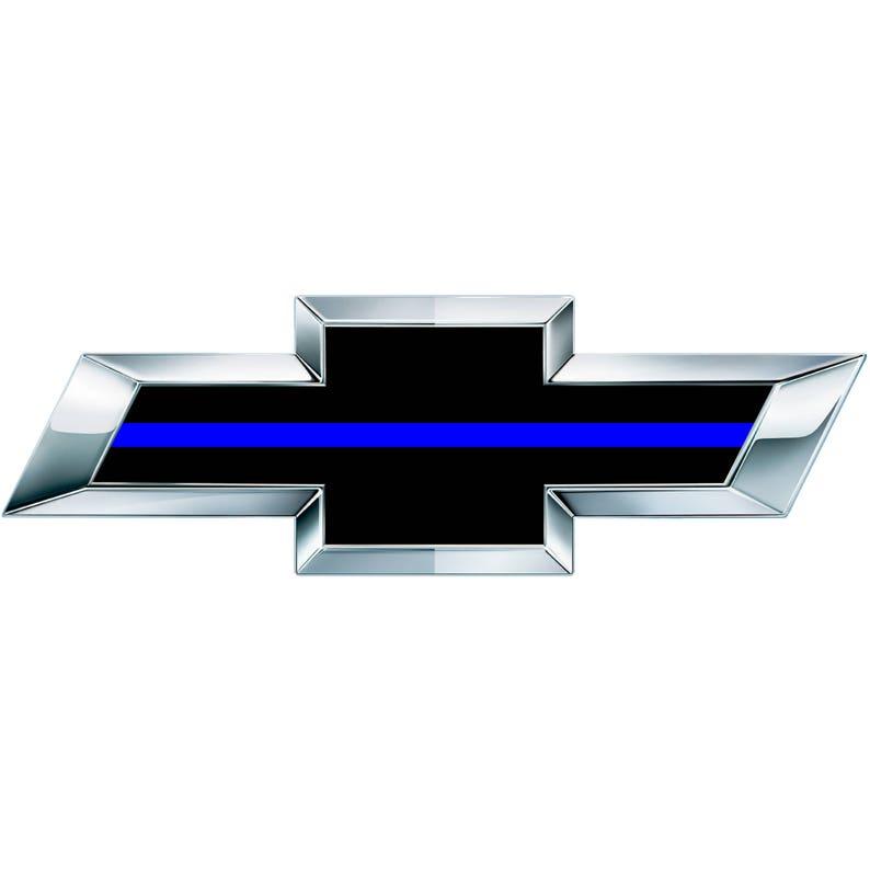 Blue chevy emblem