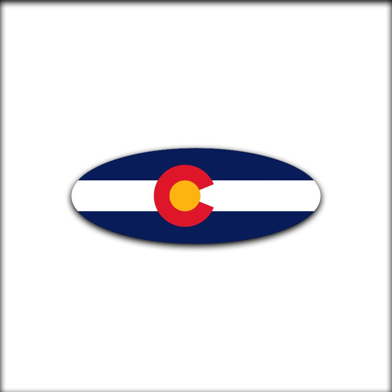 Colorado Flag Overlay Decal for 2015-2017 Ford F-150 Emblem (Front and Rear)