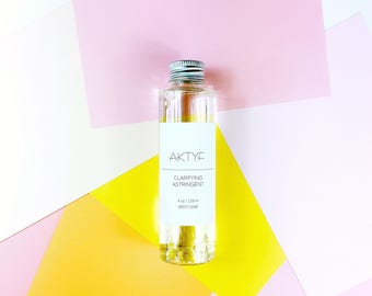 AKTYF Clarifying Astringent, oil-controlling, refining, clarifying, combination, oily/ breakout prone skin types, acne and blackheads