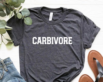 80885982 Carbivore Shirt, Funny Workout shirt, Carbs T-Shirt, Funny Gym Shirt, Gym  Gift, Workout gifts for women, Workout Top, Funny Diet tshirts