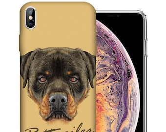 separation shoes c52a3 4223a Rottweiler iphone   Etsy