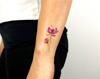 Lotus Tattoo Etsy