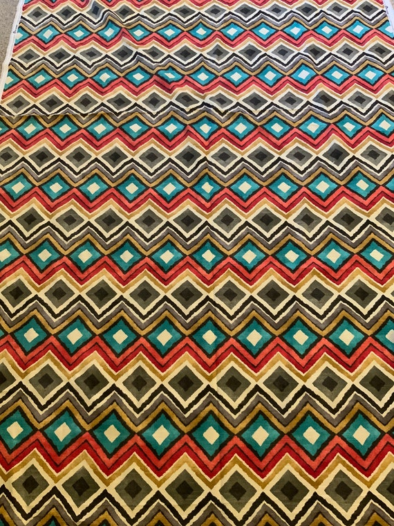 HGTV Fabric Like A Diamond Design Authentic 2.5 Yard selling whole lot