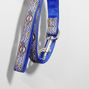 Milwaukee Brewers Multi Logo Chevron Unofficial 1 Inch Dog Collar And Leash Set With Multiple Backing Color Options
