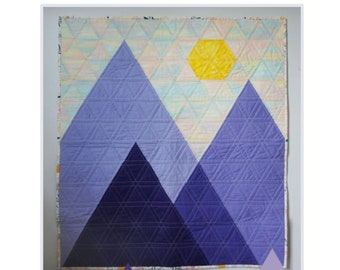 Geo Peaks PDF Quilt Pattern