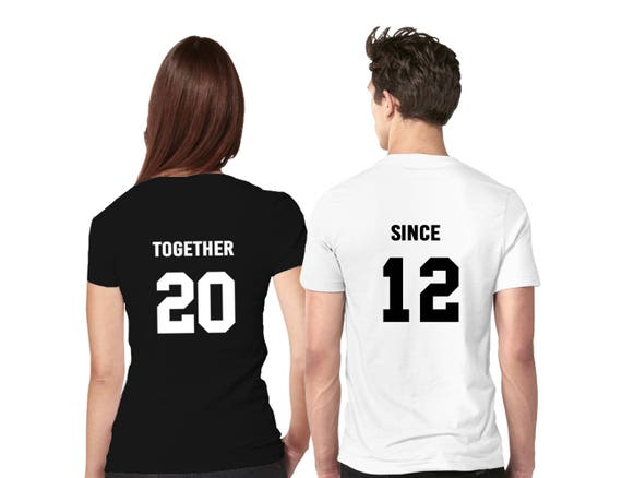 Couples Shirts T Shirt Tshirts Birthday